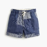J.Crew Boys' dock short in patchwork bandana