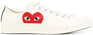 Comme Des Garçons Play X Converse All Star low-top sneakers