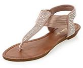 "Madden-Girl Tanduum"" Elastic Rhinestone Sandal"
