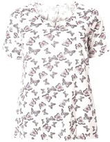 Evans Plus Size Women's Butterfly Print Top