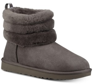 UGG Women's Fluff Mini Quilted Boots