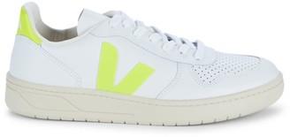 Veja Jaune Premium Leather Sneakers