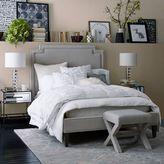 west elm Harlow Upholstered Bed - Performance Velvet