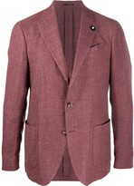 Lardini fitted two button blazer
