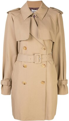 Co Double-Breasted Trench Coat