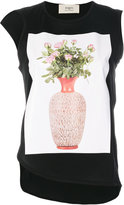 Ports 1961 flower and vase print top