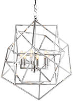 Eichholtz Matrix Lantern Pendant Light - Nickel