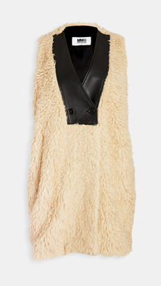 MM6 MAISON MARGIELA Faux Fur Vest
