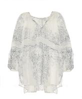 Mes Demoiselles Badu bandana-print oversized shirt