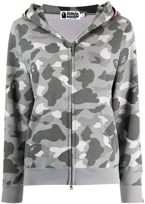 A Bathing Ape Camo Shark Full-Zip Hoodie