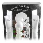 Ed Hardy Skull and Roses For Women Gift Set 4 pack