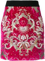 Fausto Puglisi damask embellished skirt