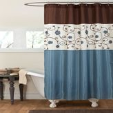 Bed Bath & Beyond Royal Garden 72-Inch x 72-Inch Shower Curtain