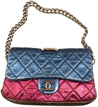 Chanel Timeless/Classique Metallic Leather Handbags