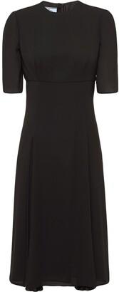 Prada Knee-Length Short-Sleeve Dress