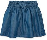 Ralph Lauren 2-6X Chambray Pull-On Skirt