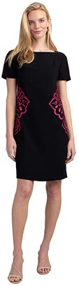 Trina Turk Claire Dress (Black) Women's Clothing