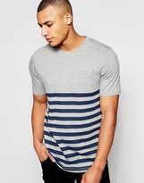 Jack and Jones Breton Stripe T-Shirt