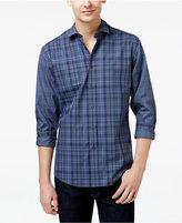 Vince Camuto Men's Block Plaid Long-Sleeve Shirt