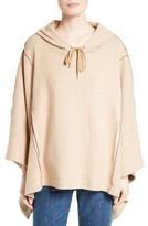 See by Chloe Women's Cotton Blend Poncho