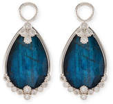 Jude Frances 18k Provence Doublet Pear Earring Charms