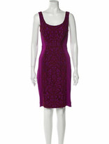 Thumbnail for your product : Diane von Furstenberg Printed Knee-Length Dress Pink