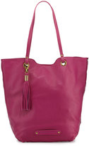Cynthia Vincent Eden Leather Tote Bag, Fuchsia