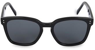 Celine 55MM Plastic Round Sunglasses