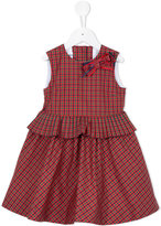 Familiar checked dress - kids - Silk/Cotton/Polyester - 2 yrs