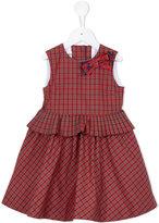 Familiar checked dress - kids - Silk/Cotton/Polyester - 2 yrs