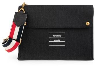 Thom Browne Large Mail Envelope Messenger Bag