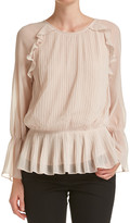 SABA Effie Pleated Top