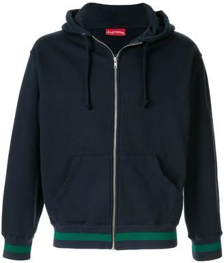 Supreme Old English stripe hoodie