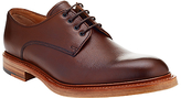 John Lewis & Co. Made In England Leather Derby Shoes, Ox Blood