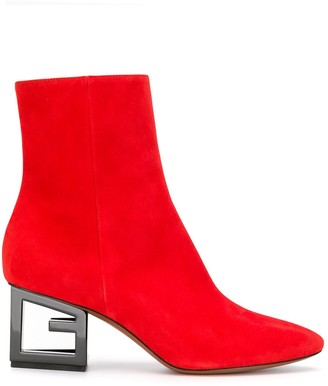 Givenchy G heel ankle boots