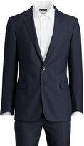 Ralph Lauren Connery Tick-weave Wool Suit