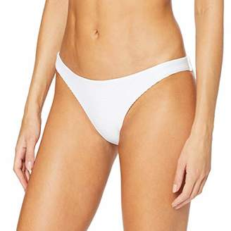 Seafolly Women's Essentials Hipster Bikini Bottoms, White