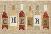 Liora Manné Front Porch Indoor/Outdoor Cheers Rose 2'6'' x 4' Area Rug