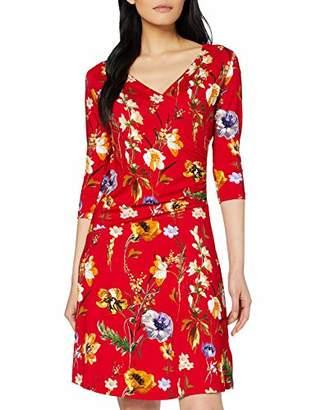Joe Browns Womens Classic Floral Print Wrap Dress Red