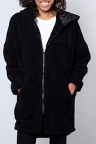 Noisy May Oversized Shearling Jacket