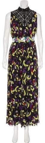 Giambattista Valli Floral Print Maxi Dress w/ Tags
