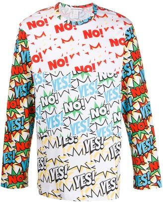 Comme des Garcons comic print sweatshirt