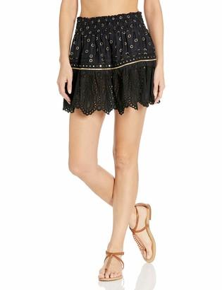 Ramy Brook Women's Bruno Embroidered Mini Skirt