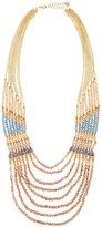 Nakamol Multi-Strand Wood, Agate & Crystal Beaded Necklace