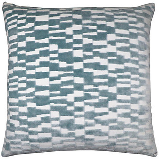 The Piper Collection Tanner 22x22 Pillow - Spa