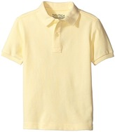 Nautica Short Sleeve Pique Polo Boy's Short Sleeve Pullover