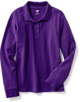 Old Navy Uniform Pique Polo for Girls