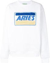 Aries 'Aries' embroidery sweatshirt