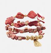 Avenue Coral Shell Stretch Bracelet Set