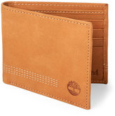 Timberland Wheat Leather Wallet & Key Fob Set